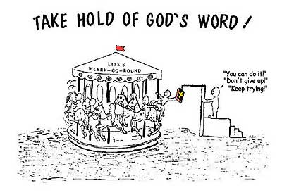 Take hold of God's Word